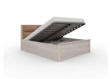 Тиффани СВ-510/1 Кровать с мягким изголовьем и подъемным механизмом (сп.место:160х200)