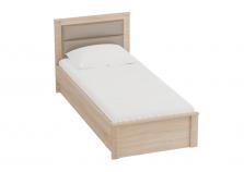Элана (дуб сонома) Кровать  (сп. место: 90х200)
