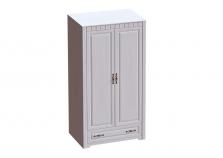 Прованс (бодега/платина) Шкаф 2-дверный (глуб. 590)