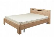 Соренто (дуб стирлинг) Кровать (сп. место: 90х200)