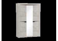 Соренто (дуб бонифаций) Шкаф 3-дверный (гл. 545)