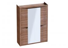 Соренто (дуб стирлинг) Шкаф 4-дверный (гл. 545)
