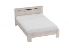 Соренто (дуб бонифаций) Кровать (сп.место: 90х200)