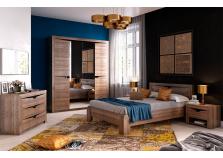 Соренто (дуб стирлинг)  Комплект мебели для спальни, НАБИРАЕТСЯ ПОЭЛЕМЕНТНО