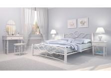 Милая (белая) Спальня Кованая НАБИРАЕТСЯ ПОЭЛЕМЕНТНО