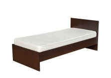 Николь НК-01 (венге) Кровать с осн. (сп. место: 90х200)