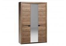 Гарда СБК-102.25 (дуб галифакс табак) Шкаф 3-х дверный 2100