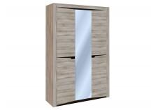 Гарда СБК-101.11 (ясень таормино) Шкаф 3-х дверный 2300