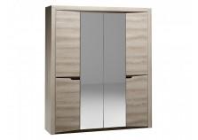 Гарда СБК-101.12 (ясень таормино) Шкаф 4-х дверный 2300