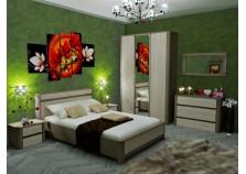 Лацио СБК (вар.1) Мебель для спальни НАБИРАЕТСЯ ПОЭЛЕМЕНТНО