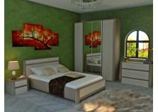 Лацио СБК Комплект №2 Мебель для спальни НАБИРАЕТСЯ ПОЭЛЕМЕНТНО