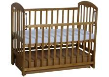 Фея-328 (медовый) Кроватка детская массив (сп.место: 60х120)