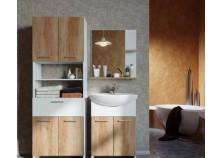 Электра (вариант №1) Мебель для ванной НАБИРАЕТСЯ ПОЭЛЕМЕНТНО